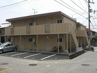 高知市南部 2DKアパート