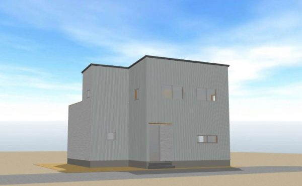 高知市朝倉 新築住宅 令和3年2月完成予定