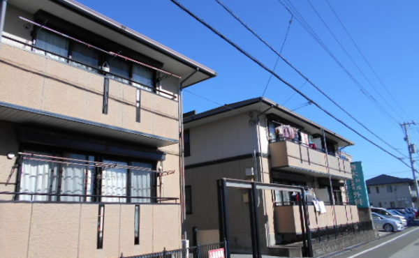 高知市東部2DK賃貸アパート