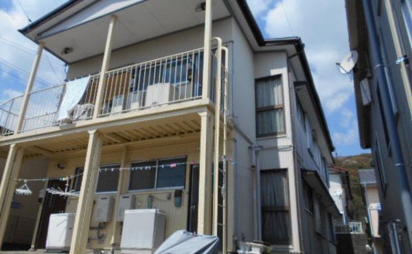 高知市北部アパート 2DK 福祉の方OKです。