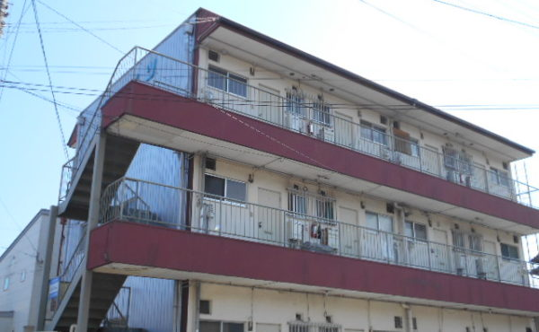 高知市北部 2DKアパート