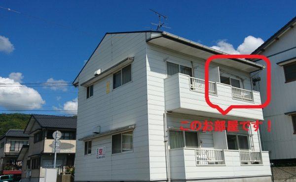 高知市薊野 1Kアパート